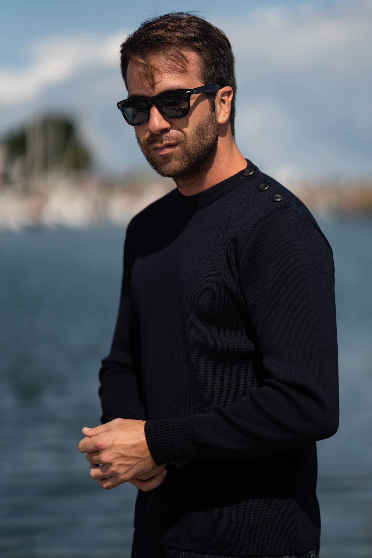 Navy-sweater-merino-wool-made-in-france-navy-1