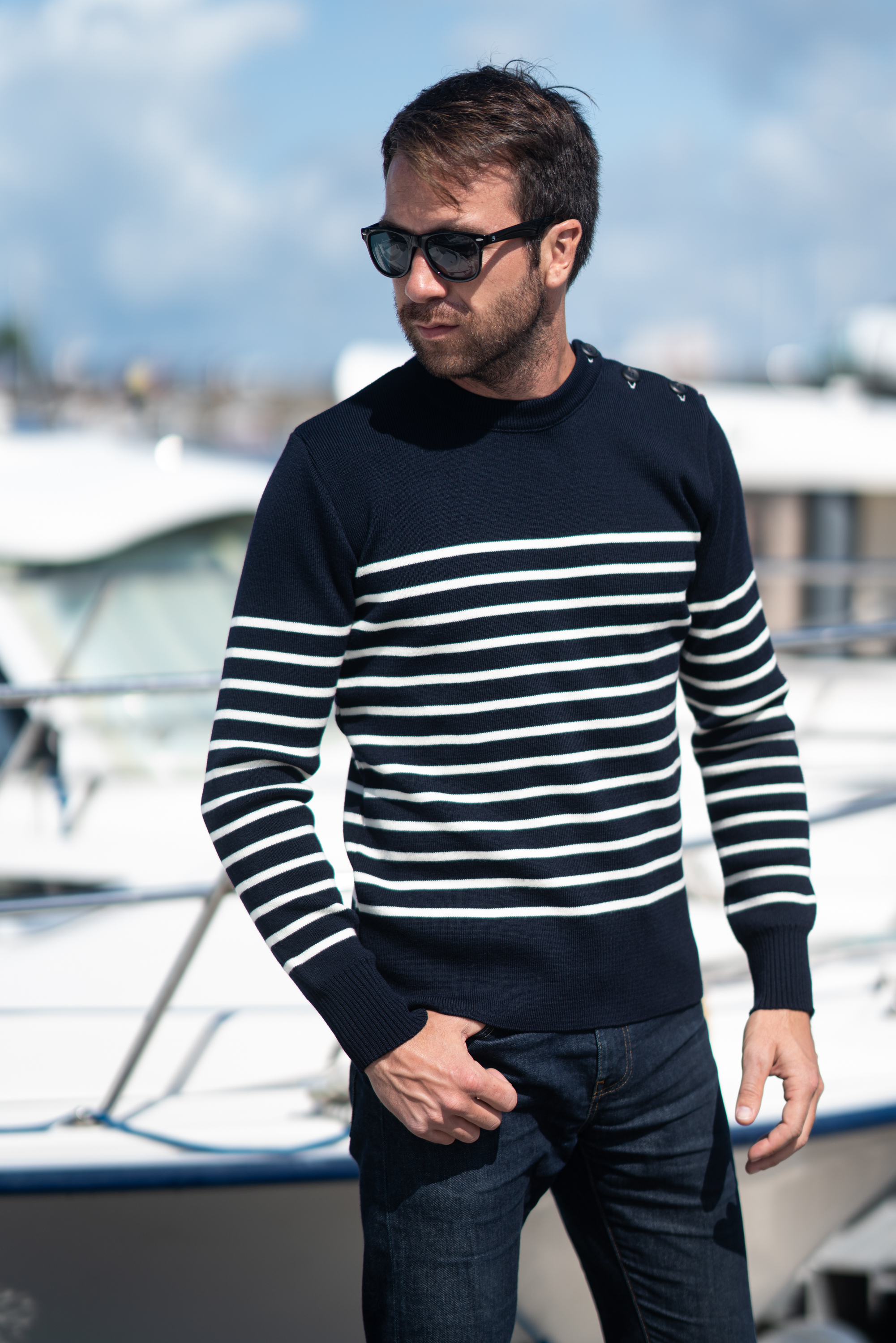 Pull-Marin-merinos-made-in-france-frenchaholic-navy-blanc-2